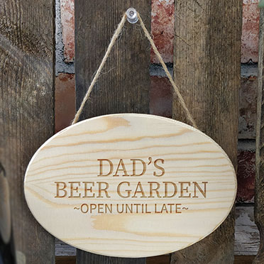 Dads Beer Garden Sign